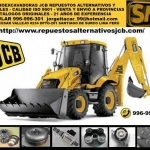 Repuestos JCB ​​alternativos y originales ISO 9001 envio a provincias