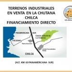Lotes Industriales La Chutana Chilca 2616 m² c/u $115 m² Financ. Directo