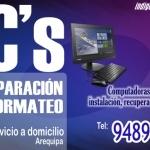 PC, Servicio Tecnico, Formateo, Computadoras, Arequipa