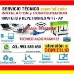 TECNICO PC LAPTOPS REPETIDORES DE INTERNET